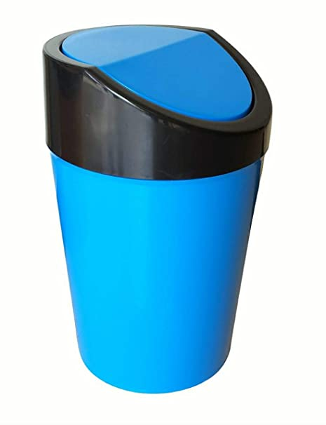 Car Mini Trash Rubbish Can Garbage Dust Dustbin Box Case Holder Bin Hook