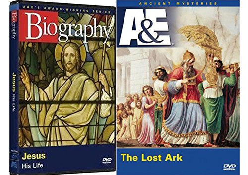 A&E Bible Collection A&E Ancient Mysteries - The Lost Ark & A&E Biography Jesus: His Life 2-DVD Bundle
