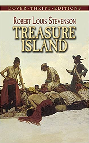 Treasure Island (Dover Thrift Editions): Robert Louis Stevenson ...