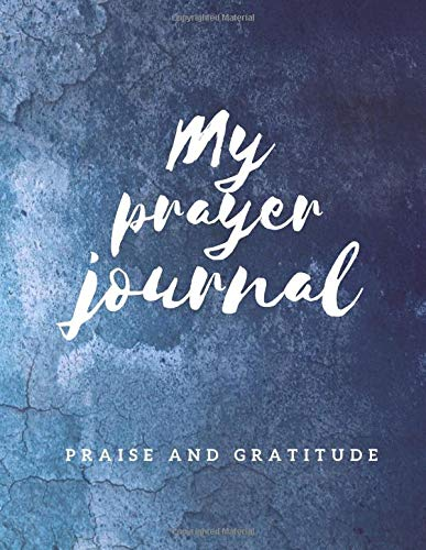 My Prayer Journal Praise And Gratitude  A Diary That Helps Strengthen Faith In One's Own Value Skills And Self Respect. Prayer Book For Woman Girls ... Daily Guide Attitude Of Gratitude. AM Project