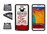 Galaxy Note 3 Rubber Case: BleuReign(TM) Graduating Senior Class of 2015 TPU RUBBER SILICONE Phone Case Back Cover for Samsung Galaxy Note III 3 N9002 includes BleuReign(TM) Cloth and Warranty Label