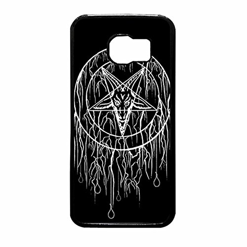 THE FORTRESS Premium cases -Satanic Pentagram Of Baphomet Samsung Galaxy S7 EDGE Caseships nest day from USAThe perfect blend of minimalism and shock (Is Halloween Satanic)