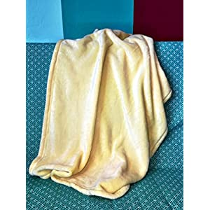 Higher Comfort Luxuriously Soft Baby Blanket – Youthful Yellow – 30″ x 40″ – Super Soft & Great Gift for Baby Shower