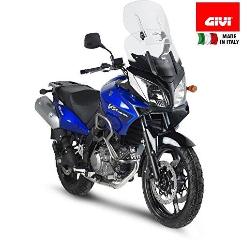 Givi Motorcycle Screens - Givi AF260 Airflow Adjustable Motorcycle Screen Suzuki DL650/1000 V-Strom