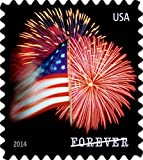 USPS Forever Stamps Star-Spangled Banner Booklet of 20 (Fireworks)
