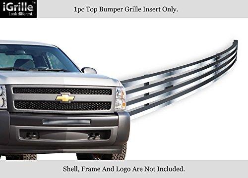 - for 2007-2013 Chevy Silverado 1500/07-10 2500/3500 Air Dam Billet Grille #C65775C
