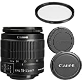 Canon EF-S 18-55mm f/3.5-5.6 IS II Zoom Lens for Canon DSLR Cameras (Certified Refurbished)