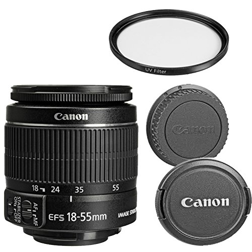 Canon EF-S 18-55mm f/3.5-5.6 IS II Zoom Lens for Canon DSLR