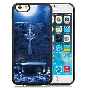 Beautiful Custom Designed Cover Case For iPhone 6 4.7 Inch TPU With Dark Blood Altar Phone Case WANGJING JINDA