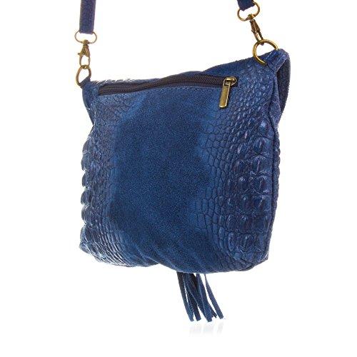 à 19 pour 3 femme Sac à porter FIRENZE Bleu Taupe 24 l'épaule ARTEGIANI wqRIpwxP6