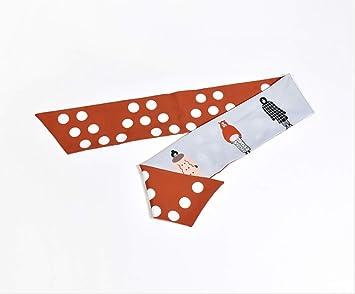 Punto rojo estampado banda ancha para el cabello corbata diadema ...