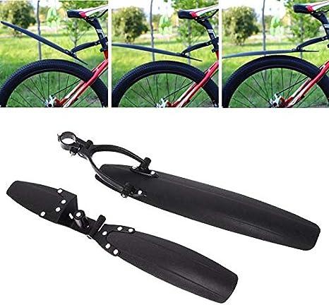 Nero Durevole della bicicletta della montagna Fenders Mtb della bici di montagna anteriore della bicicletta e parafango posteriore Set Facile da installare Fenders