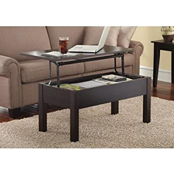 This Item Mainstays Lift Top Coffee Table Multiple Colors Espresso