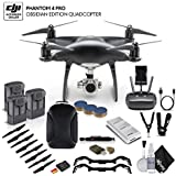 DJI Phantom 4 Pro Obsidian (CP.PT.00000018.01) 3 Battery Bundle