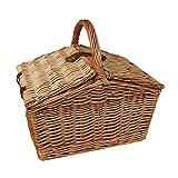 Slope-Sided Light Steamed Wicker Basket
