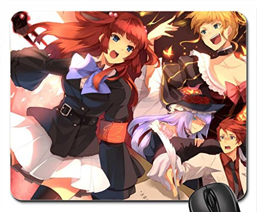 umineko_no_naku_koro_ni Mouse Pad, Mousepad (10.2 x 8.3 x 0.12 inches) (Anime With Blonde Hair And Blue Eyes)