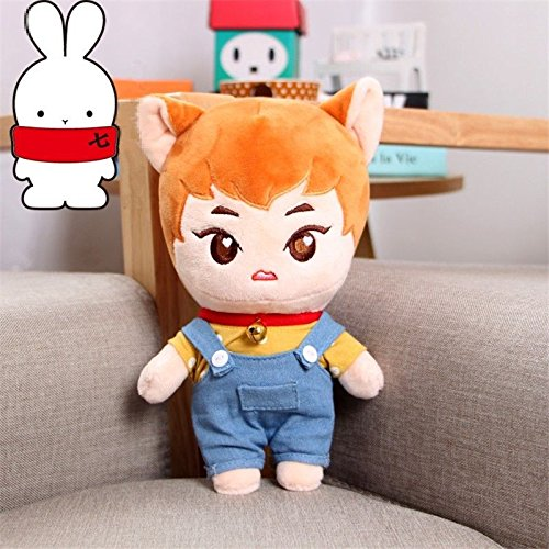 KPOP EXO Star KimMinseok XIUMIN w Clothes Kawaii Plush Toy Stuffed Doll Fanmade - Monster High Doll Names