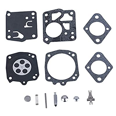 Savior Carburetor Carb Repair Kit for Tillotson RK-21HS Stihl 041 045 051 056 041AVS 041AVQ TS510 TS760 Chainsaw: Automotive