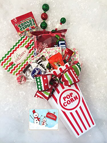 Merry Christmas to All and to All a Movie Night - Holiday Themed Redbox Gift Basket