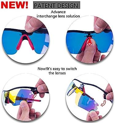 2987a69133 Amazon.com  RIVBOS 805 Polarized Sports Sunglasses Sun Glasses with ...