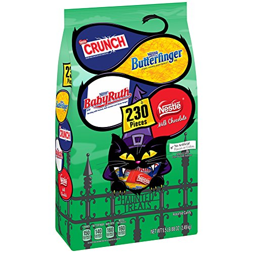 Nestle Assorted Chocolate Classic Halloween Candy, 88 Ounce