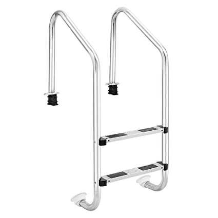 Amazon.com: AK Energy - Escalera antideslizante para piscina ...