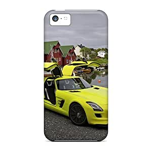 Iphone High Quality Tpu Case/ E Cell Sls Amg NIENRmu5994CTtmr Case Cover For Iphone 5c