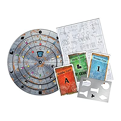 Exit: The Secret Lab | Exit: The Game - A Kosmos Game | Kennerspiel Des Jahres Winner | Family-Friendly, Card-Based at-Home Escape Room Experience for 1 to 4 Players, Ages 12+: Toys & Games