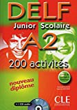 DELF Junior Scolaire A2 + Corrigés + CD audio: Corrigés + CD. Buch + Audio-CD