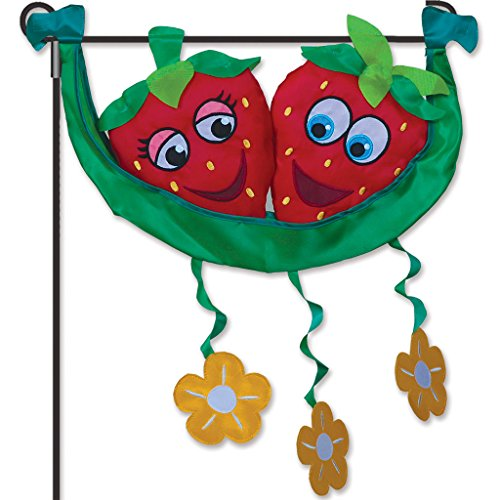 Premier Kites 59156 Garden Charm, Mr. and Ms. Strawberry, (Mr. Halloween Party Fabric)