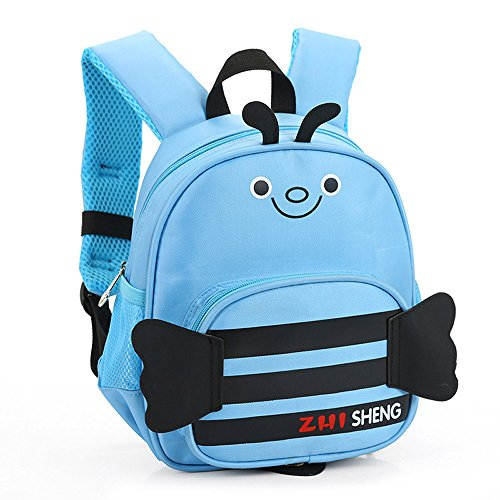Price comparison product image Memela Baby Boys Clothes,  Layette Cute Cartoon Bee Backpack Toddler School Bag Spring / Summer (Blue)