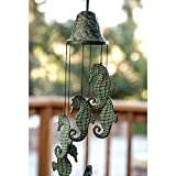 SPI Home 30486 Seahorse Wind Chime