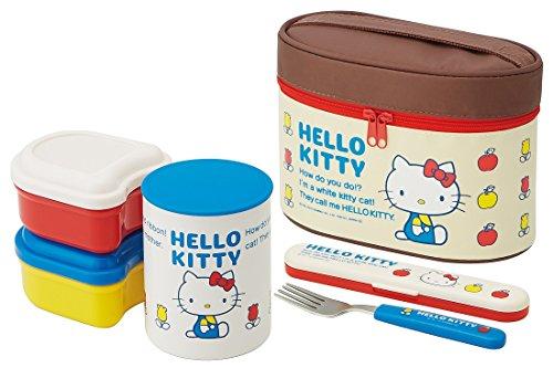 Ultra-lightweight warmth jar Lunch box 560ml Hello Kitty 70s KCLJC6 (1970s Lunch Box)
