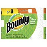 Bounty Paper Towels, White, 6 Big Rolls