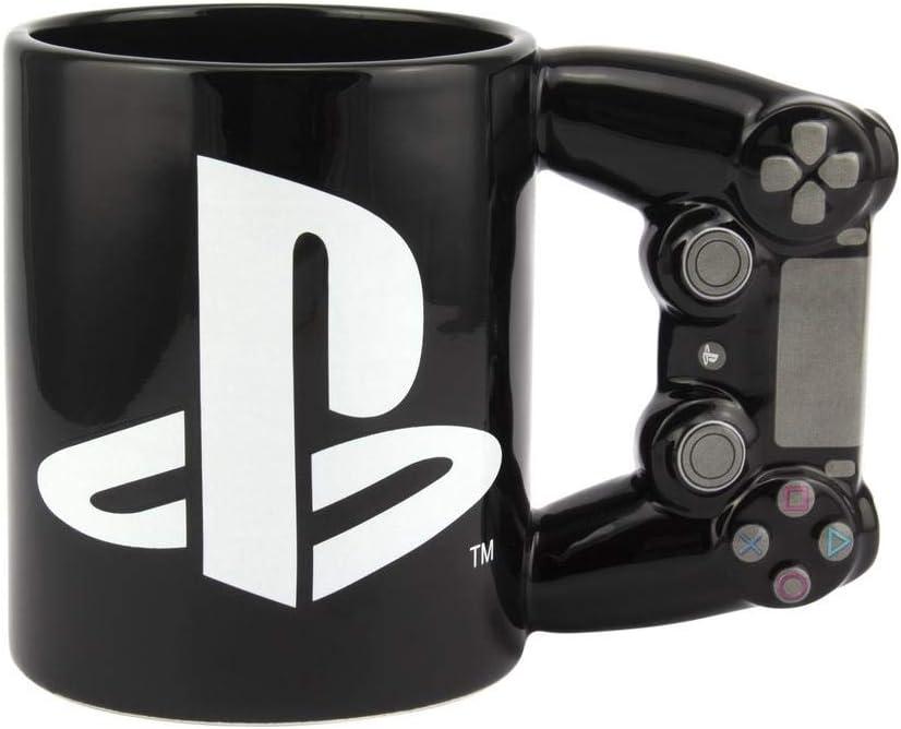 Paladone PP5853PS Playstation 4ª generación Controller taza – Taza de café de cerámica para jugadores