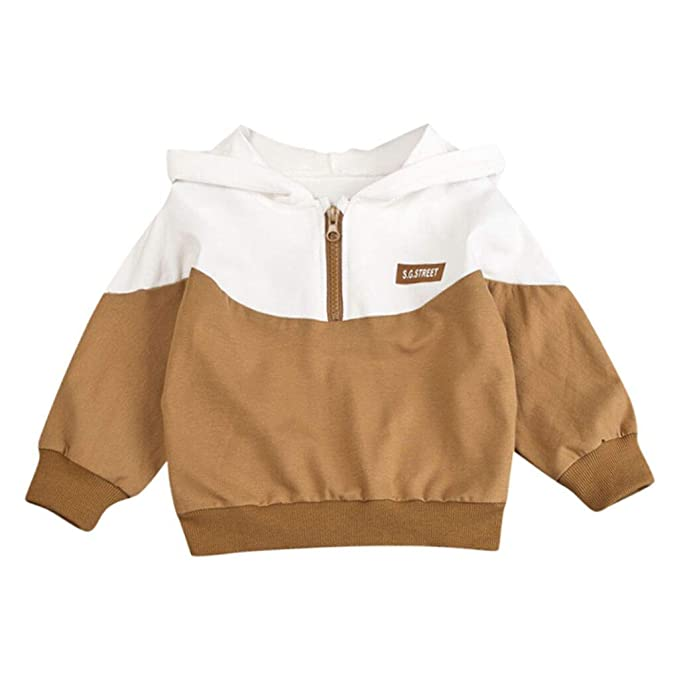 Amazon.com: YESOT sudadera con capucha para niños de 6 a 3 ...