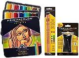 Prismacolor Premier Colored Pencil and Accessory Set, Set of 48 Premier Colored Pencils, One Premier Pencil Sharpener, and a 2-pack of Prismacolor Premier Colorless Blender Pencils