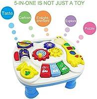 Mesa de aprendizaje musical - GALOOK Baby Toy - Juguete de ...