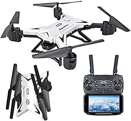 KY601S Drone RC Quadcopter With HD Camera FPV Foldable Aircraft Remote Control