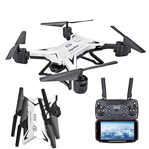ZTY66 KY601S WiFi FPV Foldable Arm Selfie Drone HD Camera 6Axis 2.4G 4CH RC Quadcopter (White)