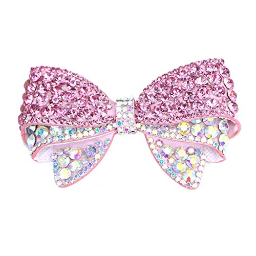 Monrocco Set of 2 DIY Rhinestone Bow Butterfly Shoe Charms Shoe Clips Accessories Shoes Decoration Charms for Ladies & Women