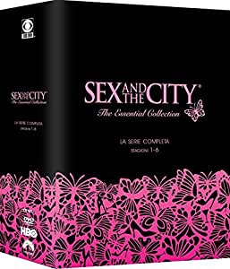 sex and the city - season 01-06 (18 dvd) box set dvd Italian Import
