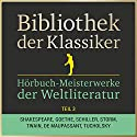 Hörbuch-Meisterwerke der Weltliteratur, Teil 3 (Bibliothek der Klassiker) Hörbuch von  div. Gesprochen von: Jürgen Fritsche, Sven Görtz