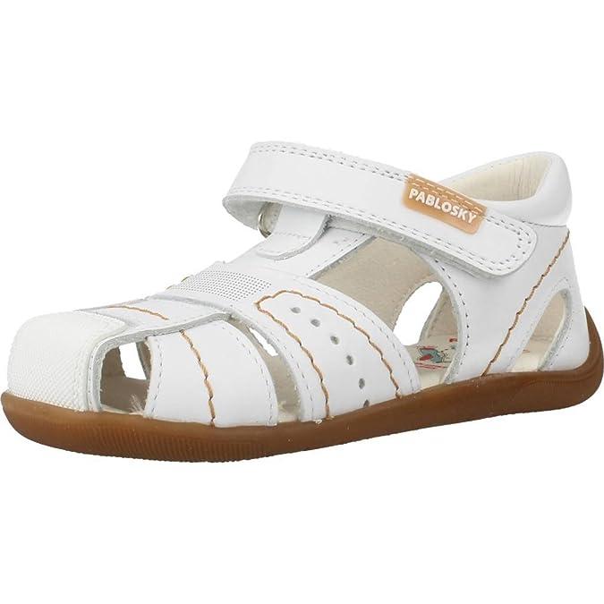 Sandalias Blancas de Pablosky, modelo 075700. - 22