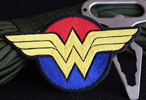DC Comics Wonder Woman Velcro Embroidered Patch Badge/ - Wonder Woman Patches