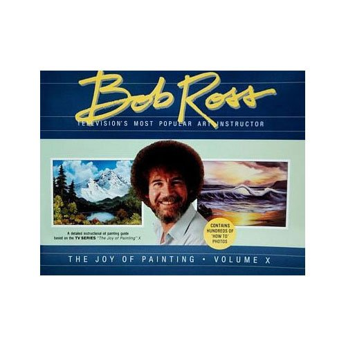 Bob Ross The Joy of Painting Book 10