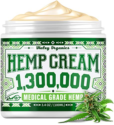 Hemp cream, pain relief