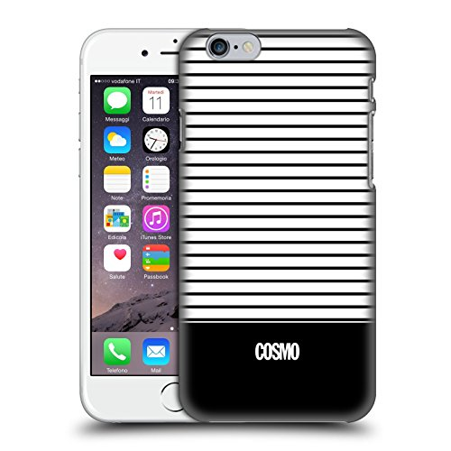 Official Cosmopolitan Black 1 Stripes Collection Hard Back Case for Apple iPhone 6 / 6s