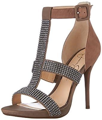 Jessica Simpson Women's Barerra T Strap Sandal