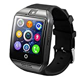 Smart Watch, KKCITE Bluetooth Smart Watch Unlocked Watch Cell Phone SIM 2G GSM with Camera, Support Sleep Monitor Push Message, Anti lost etc